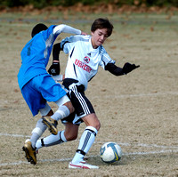 Nov 6, 2010 - GA Rush Nike 95/96 vs. United FA Black 96